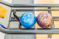 Bola de bowling. Imagem de Stock
