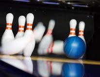 Ação do bowling Imagem de Stock Royalty Free