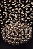 Bola de cadena cristalina de Crystal Pendant Crystal Imágenes de archivo libres de regalías