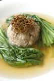 Bola de carne china del alimento con el truff Imagen de archivo