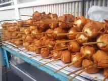 Bola de carne frita Imagenes de archivo