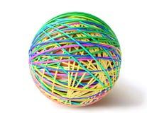 Bola de Colorfull Imágenes de archivo libres de regalías