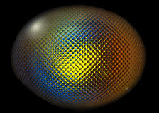 Bola de cristal Imágenes de archivo libres de regalías