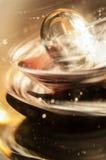 Bola de cristal Foto de archivo libre de regalías