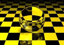 Bola de cristal Imagen de archivo libre de regalías