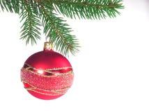 Bola de cristal con el ornamento Foto de archivo libre de regalías
