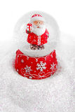 Bola de cristal de la Navidad Imagenes de archivo