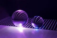 Bola de cristal del arte Foto de archivo