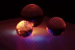 Bola de cristal del arte Fotografía de archivo