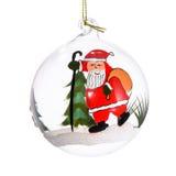 Bola de cristal do Natal Imagens de Stock