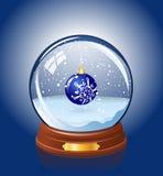 Bola de cristal Nevado Foto de archivo libre de regalías
