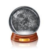 Bola de cristal Nevado Imagenes de archivo