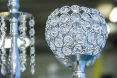 Bola de cristal para a decoração fotos de stock royalty free
