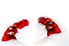Bola de cristal roja Foto de archivo libre de regalías