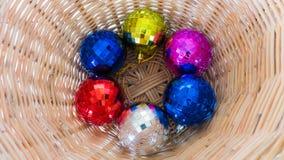 Bola de Crystal Christmas Imagem de Stock Royalty Free