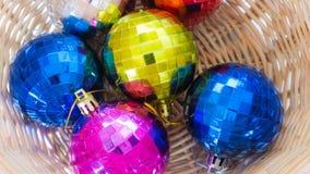 Bola de Crystal Christmas Fotografia de Stock