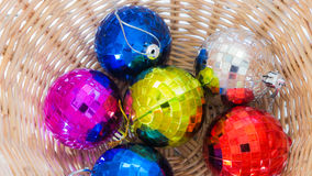 Bola de Crystal Christmas Foto de Stock Royalty Free