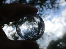 Bola de Cystal imagen de archivo