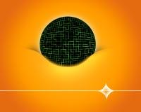 Bola de Digitaces. Imágenes de archivo libres de regalías