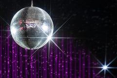 Bola de discoteca del club nocturno Fotos de archivo
