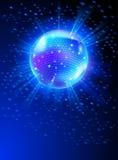 Bola de discoteca del espejo libre illustration