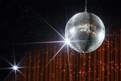 Bola de discoteca del partido Fotografía de archivo libre de regalías