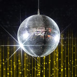 Bola de discoteca del partido Imagenes de archivo