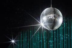 Bola de discoteca del partido Imagen de archivo libre de regalías