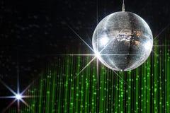 Bola de discoteca del partido Fotos de archivo