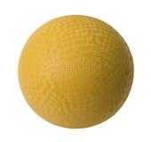 Bola de Dodge amarilla imágenes de archivo libres de regalías