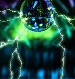 Bola de eletrificação do espelho do disco Fotografia de Stock