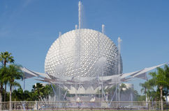 A bola de Epcot Foto de Stock Royalty Free