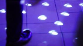 Bola de espejo del disco almacen de metraje de vídeo