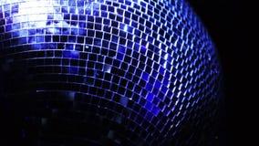 Bola de espejo del disco almacen de video