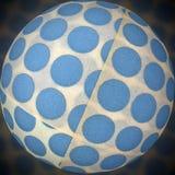 Bola de etiquetas engomadas Foto de archivo libre de regalías