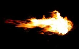 Bola de fogo Imagem de Stock Royalty Free