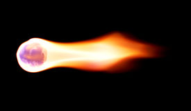 Bola de fogo imagens de stock royalty free