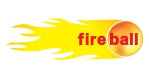 Bola de fogo para seu projeto ilustração royalty free