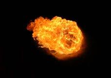 Bola de fuego Fotos de archivo libres de regalías