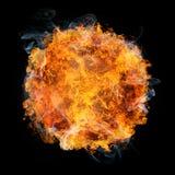 Bola de fuego Fotografía de archivo libre de regalías