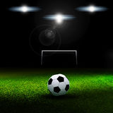 Bola de futebol ilustração stock