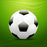 Bola de futebol. ilustração do vetor