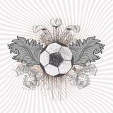 Bola de futebol Foto de Stock