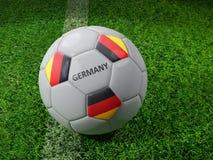 Bola de futebol de Alemanha Imagem de Stock Royalty Free