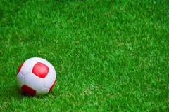 Bola de futebol   Bola de futebol Fotos de Stock