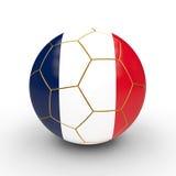 Bola de futebol de França ilustração do vetor
