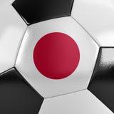 Bola de futebol de Japão Fotos de Stock Royalty Free