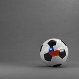 Bola de futebol do Chile Fotografia de Stock Royalty Free