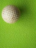 Bola de golfe após o uso Foto de Stock