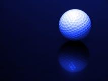 Bola de golfe com reflexão Imagem de Stock